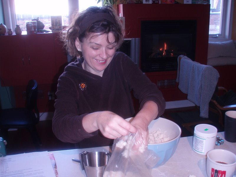 The smiling pastry chef