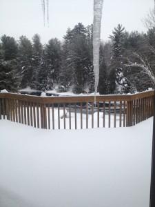 upper deck in winter
